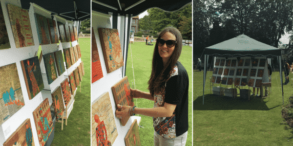 Canterbury Art in the Park 2016