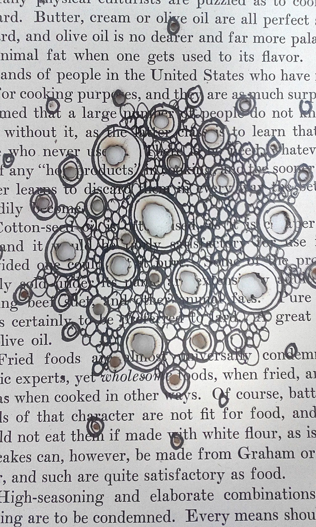 Mixed Media Art Blog - Artist Interview - Thurle Wright - Book Art - Doodle drawing days.
