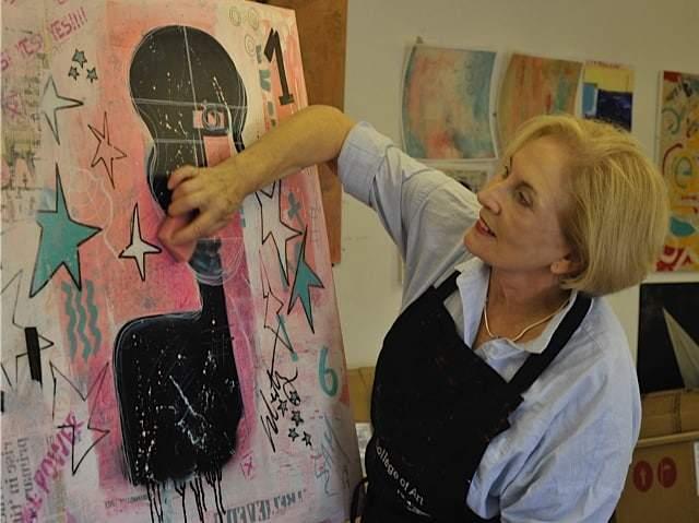 Mixed Media Art Blog - Artist Interview - Sue Munson