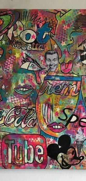 Barrie J Davies - Mixed Media Art