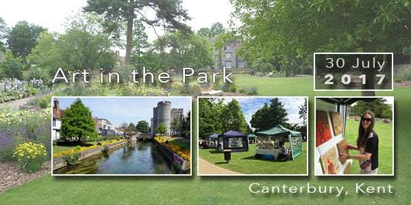 Canterbury Art in the Park 2017